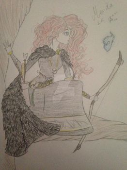 Limited Edition Merida by MySapphireReverie