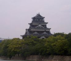 Hiroshima Castle 2 by Lianthanis