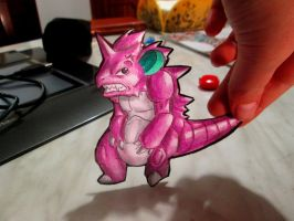 Paperchild 90. Pokemon#34 - Nidoking by FuriarossaAndMimma