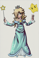 WIP: Rosalina by Lavenkitty
