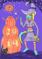 Magic Time Halloween by Arctic-hermit-crab