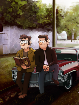 Researching the supernatural by markmak