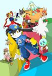 Klonoa and other characters by Hyrika