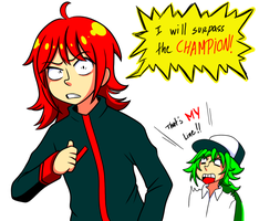ore wa CHAMPION wo koeru by Pirra