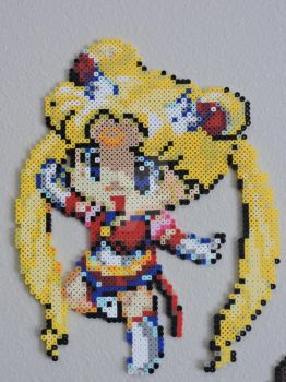 Sailor Moon Pixel Art by IrishPerlerPixels