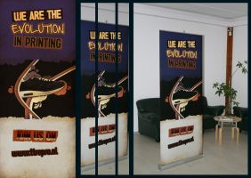 Roll-up Banner Design by rAwtec