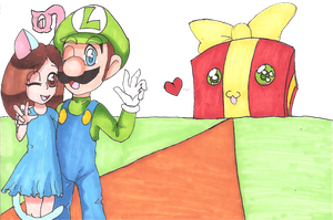 AT: her and Luigi by sheezy93