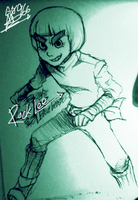 Naruto:Rock Lee by G0966