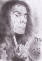 R.J. Dio - portrait by Cromoedge