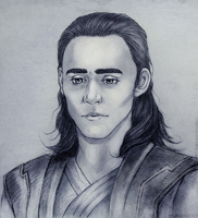 Loki sketch by Greenticky