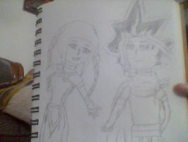 Nanu and Atem requested by The-Snuggly-Duckling by QueenBrittStalin