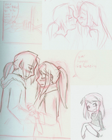EdXWinry Doodles by Mandymtt