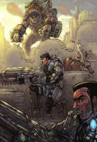 loose the Gears of War by vic55b