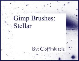 Gimp Brushes: Stellar by coffinkittie