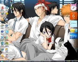 BLEACH Wallpaper by Whinnie10