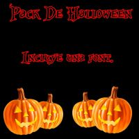 Pack Halloween by Camyloveonedirection