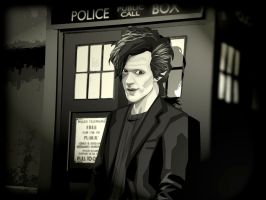 Matt Smith - Doctor Who by Welchtoons