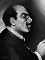 Hercule Poirot by napalmnacey