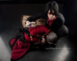 Poor Broken Doll by AngryLittleGnome