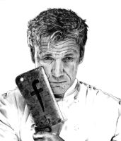 Gordon Ramsay by Menco