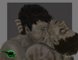 Destiel by X-BlackOut-X