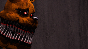 Nightmare Fredbear (SFM FNAF) by TheSitciXD