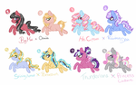 MLP Generator Shipping Adopts by luxrayfan33
