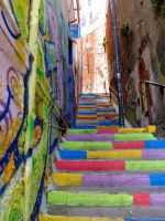 stairway to colour by ketutita