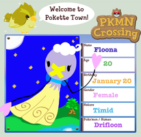 Pokemon Crossing: Floona by the-summoning