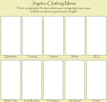 Jingdou Clothing Meme by MistressOrchid