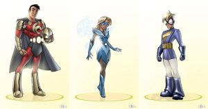 Character Designs 03 by Magpye
