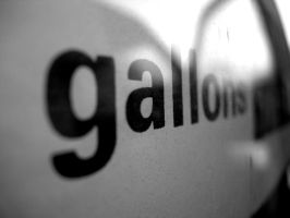 B+W - Gallons by projectfury