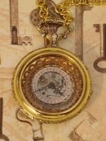 Steampunk Pocket Watch Pendant by cjgrand