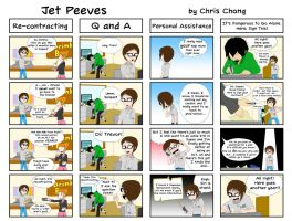 Jet Peeves - Staying in Japan Another Year by ChongComics