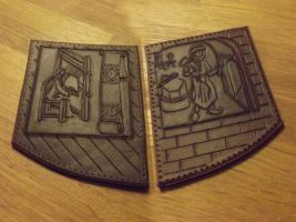 Leather panes by Noctiped