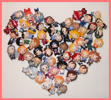Chibi-Charms: Charms are Love by MandyPandaa