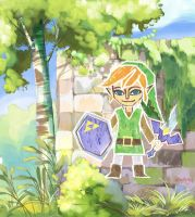 The Legend of Zelda: A Link Between Worlds by ultimatesol
