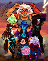 AvenGEMS Assemble by littleprincefinn