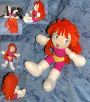 Lina Inverse Plush--My 4th by Threnodi