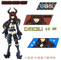 Black Gold Saw BGS Pixel by Danxel