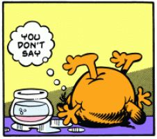 Inflated Garfield 2 by blbr