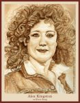 Alex Kingston by strryeyedreamr27