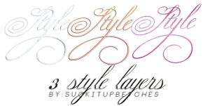 Style Set 44. (With 3 Style Layers) BY::SIUB by suckitupbetches