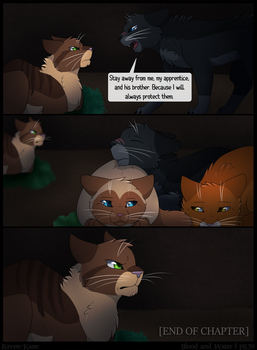 Warriors: Blood and Water - Page 39 - END CH1 by Raven-Kane