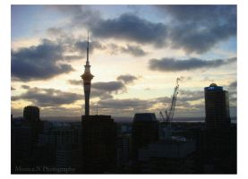 Sky Tower by asphyxiat3d