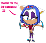 THANKS FOR DA 30 WATCHERS! by xXSeekaMistaXx