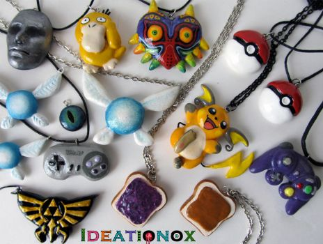 Some items I've been working on by Ideationox