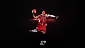 Derrick Rose by DesignsByGuru