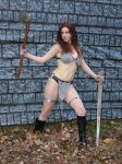 Red Sonja in the flesh by red-sonja