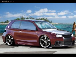 Vw Golf IV Street Runner by LEEL00
